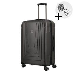 TITAN X-RAY PRO M antracit ujjlenyomat-olvasós közepes bőrönd