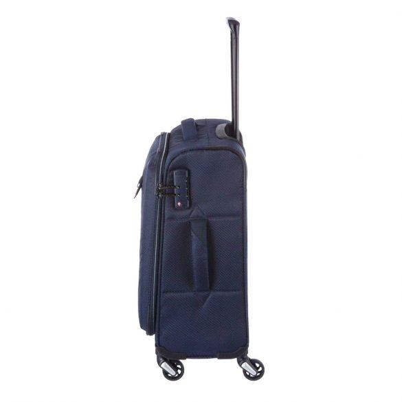 Bőrönd TRAVELITE Kite S kék 4 kerekű kabin méret