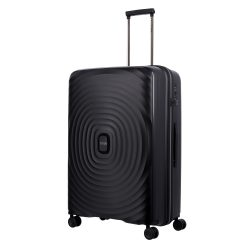 TITAN Looping L fekete 4 kerekű nagy bőrönd