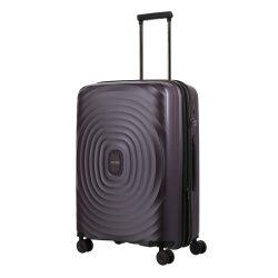 TITAN Looping M lila 4 kerekű bővíthető közepes bőrönd