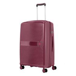 TRAVELITE Ceris M szeder 4 kerekű közepes bőrönd