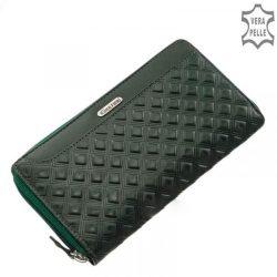 TRAVELITE Sunny Bay fekete 3 részes bőrönd szett