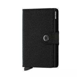 SECRID Miniwallet Crisple Fekete mini pénztárca