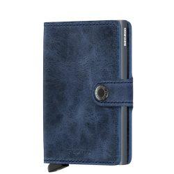 SECRID Miniwallet Vintage Kék kártyatartós pénztárca
