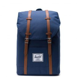 HERSCHEL Retreat Navy laptoptartós hátizsák