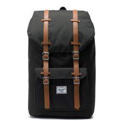 HERSCHEL Little America Black laptoptartós hátizsák