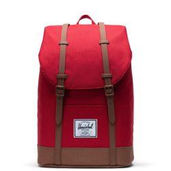 HERSCHEL Retreat Red laptoptartós hátizsák