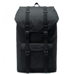 HERSCHEL Little America Light Black laptoptartós hátizsák