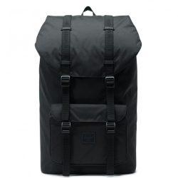 HERSCHEL Little America Light Black laptoptartós hátizsák