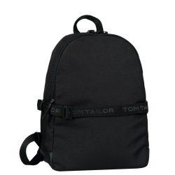 TOM TAILOR 27302-60 Fekete laptoptartós hátizsák