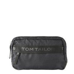 TOM TAILOR 27300-60 Fekete férfi közepes övtáska