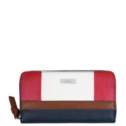 Pénztárca TOM TAILOR 27064-144 Kék-Piros-Fehér