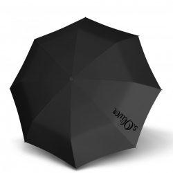 Esernyő S.OLIVER Mini Smart Fekete összecsukható