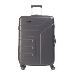 Bőrönd TRAVELITE Vector L antracit 4 kerekű nagy bőrönd