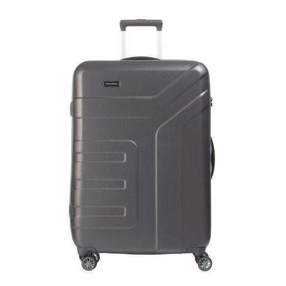 Bőrönd TRAVELITE Vector L antracit 4 kerekű nagy méret