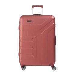 Bőrönd TRAVELITE Vector L korall 4 kerekű nagy