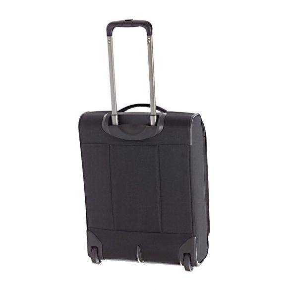 Travelite CAPRI S fekete 2 kerekű bővíthető kabin bőrönd