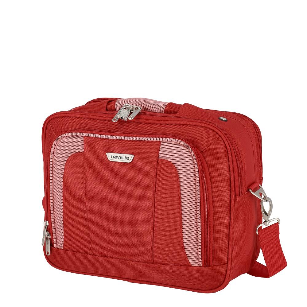 Travelite ORLANDO piros kézipoggyász méretű kabintáska fedélzeti táska e9d4bbe849