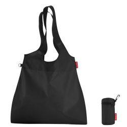 Bevásárló táska REISENTHEL mini maxi shopper L fekete