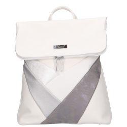 Hátizsák KAREN D 390 Fehér-ezüst