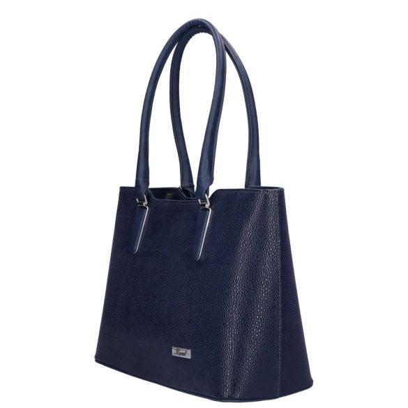 Táska KAREN 1405 Kék rostbőr elegáns női