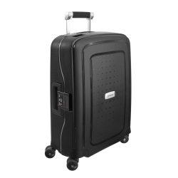 Samsonite S'cure DLX spinner (4 kerék) 55cm fekete kabin bőrönd