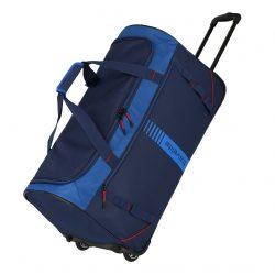 Travelite Basics Active gurulós utazótáska Kék 70cm