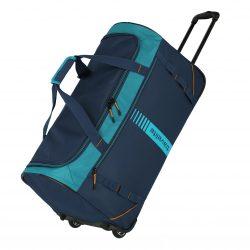 Travelite Basics Active gurulós utazótáska Petrol 70cm