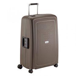 Samsonite S'cure DLX spinner (4 kerék) 75cm bronz nagy bőrönd