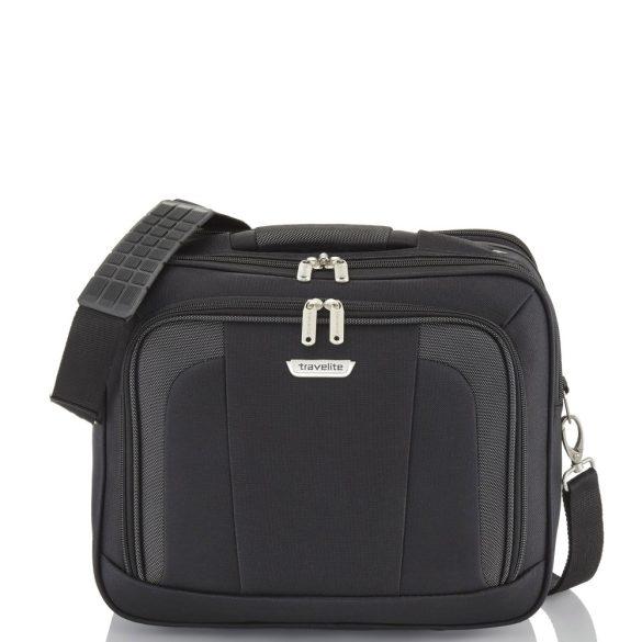 Travelite ORLANDO fekete kézipoggyász méretű kabintáska fedélzeti táska