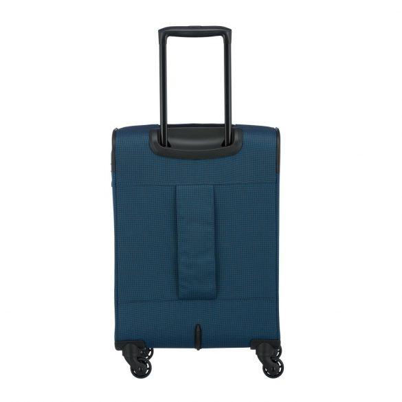 Bőrönd TRAVELITE Derby S kék 4 kerekű kis kabin bőrönd