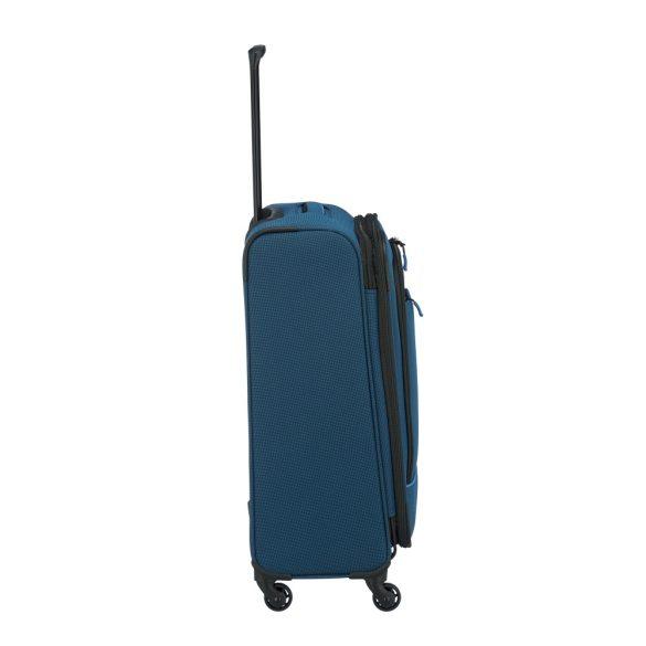 Bőrönd TRAVELITE Derby M kék 4 kerekű bővíthető közepes méret