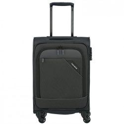Bőrönd TRAVELITE Derby S Antracit 4 kerekű kabin bőrönd