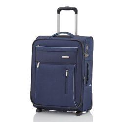 Travelite CAPRI S kék 2 kerekű bővíthető kabin bőrönd