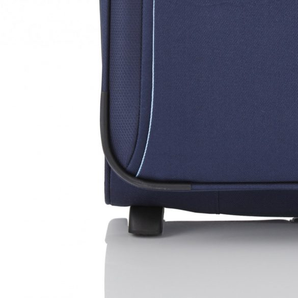 Bőrönd TRAVELITE Capri S kék 2 kerekű bővíthető kabin méret