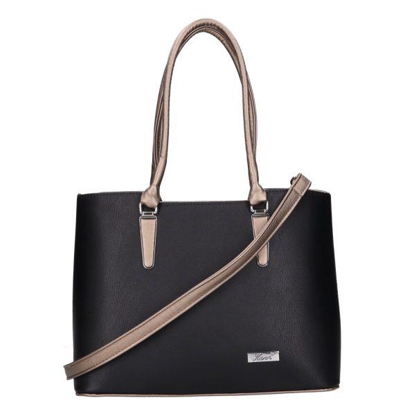 Táska Karen 1405 fekete-bronz Rostbőr