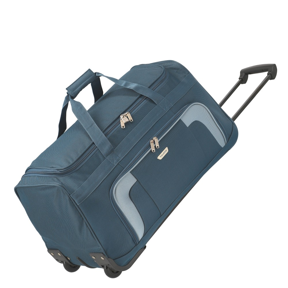 72555ecc2a6f Travelite ORLANDO kék nagy elegáns gurulós utazótáska - taskacentrum.hu