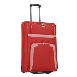 Travelite ORLANDO L piros 2 kerekű nagy bőrönd