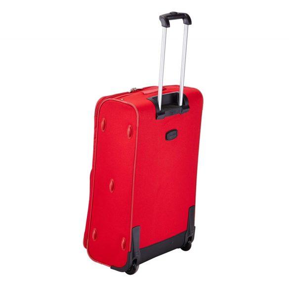 Bőrönd TRAVELITE Orlando L piros 2 kerekű nagy méret