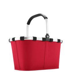 Reisenthel Carrybag piros női bevásárló kosár