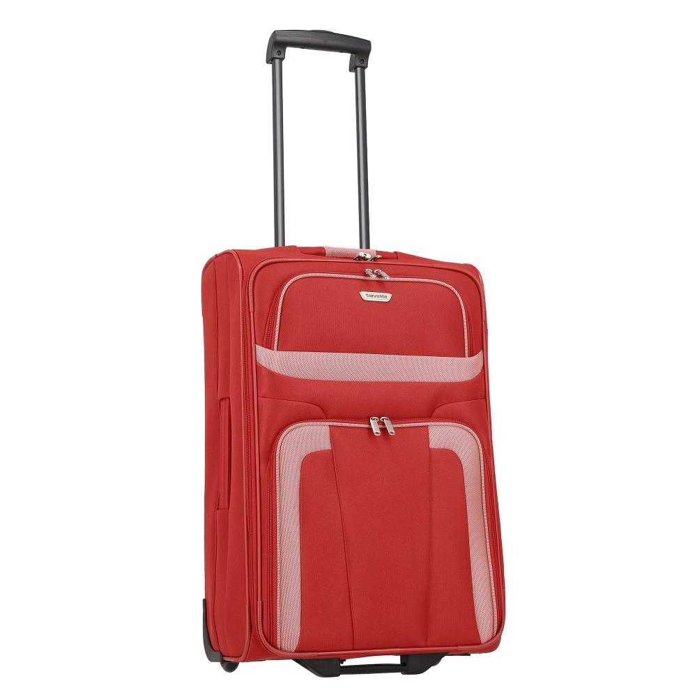 Travelite ORLANDO M piros kétkerekű közepes bőrönd - taskacentrum.hu af4e868349
