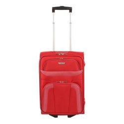 Travelite ORLANDO S piros 2 kerekű kis kabin bőrönd