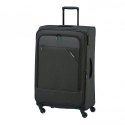 Bőrönd TRAVELITE Derby L Antracit 4 kerekű bővíthető nagy méret
