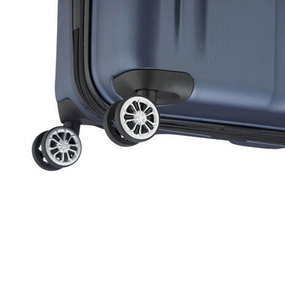 Bőrönd TRAVELITE City S kék 4 kerekű kabin méret