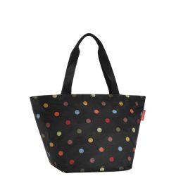 Reisenthel Shopper M fekete pöttyös női bevásárló táska e261e45920