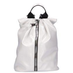 CHIARA I 515 Ezüst rostbőr női hátizsák