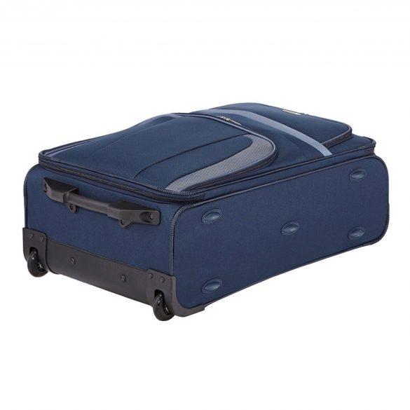 Bőrönd TRAVELITE Orlando L kék 2 kerekű nagy méret