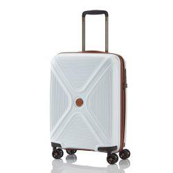 Titan PARADOXX S fehér négykerekű ütésálló kis kabin bőrönd
