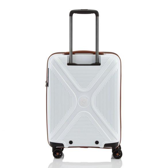 Bőrönd TITAN Paradoxx S fehér 4 kerekű  kabin méret