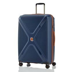 Titan PARADOXX L kék 4 kerekű ütésálló nagy bőrönd